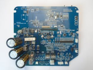 Blue Access Control 4 Layer IATF16949 SMT PCB Assembly