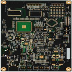 Black Solder Mask IPC-A-160 1.2mm Prototype PCB Board